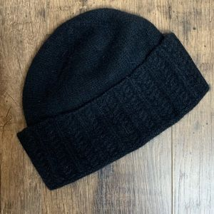 Ralph Lauren lambs wool beanie hat